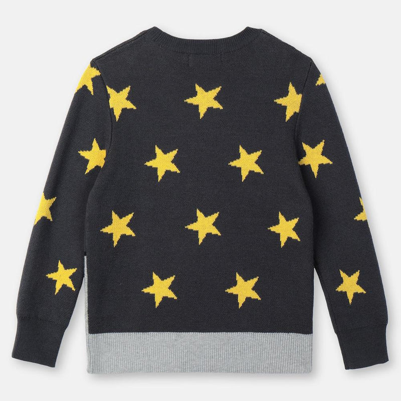Stella McCartney Rocket Cotton-Wool Sweater Jumper - Tiny People Cool Kids Clothes