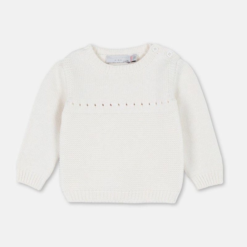 Stella McCartney Bunny Cotton Wool Sweater Jumper - Tiny People Cool Kids Clothes