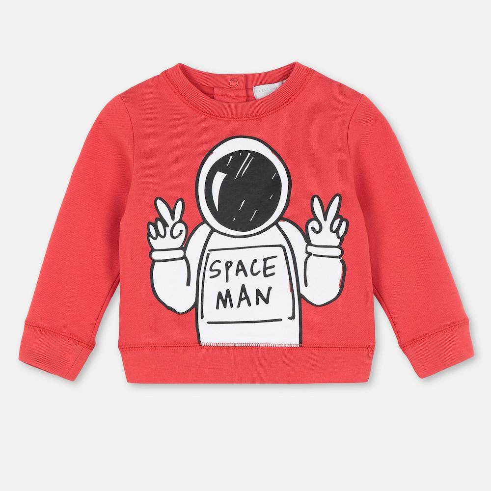 Spaceman Cotton Sweatshirt
