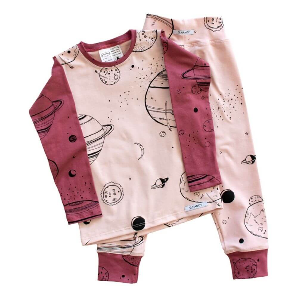 G. Nancy Girls Are From Venus Long Sleeve PJ Set | Tiny People