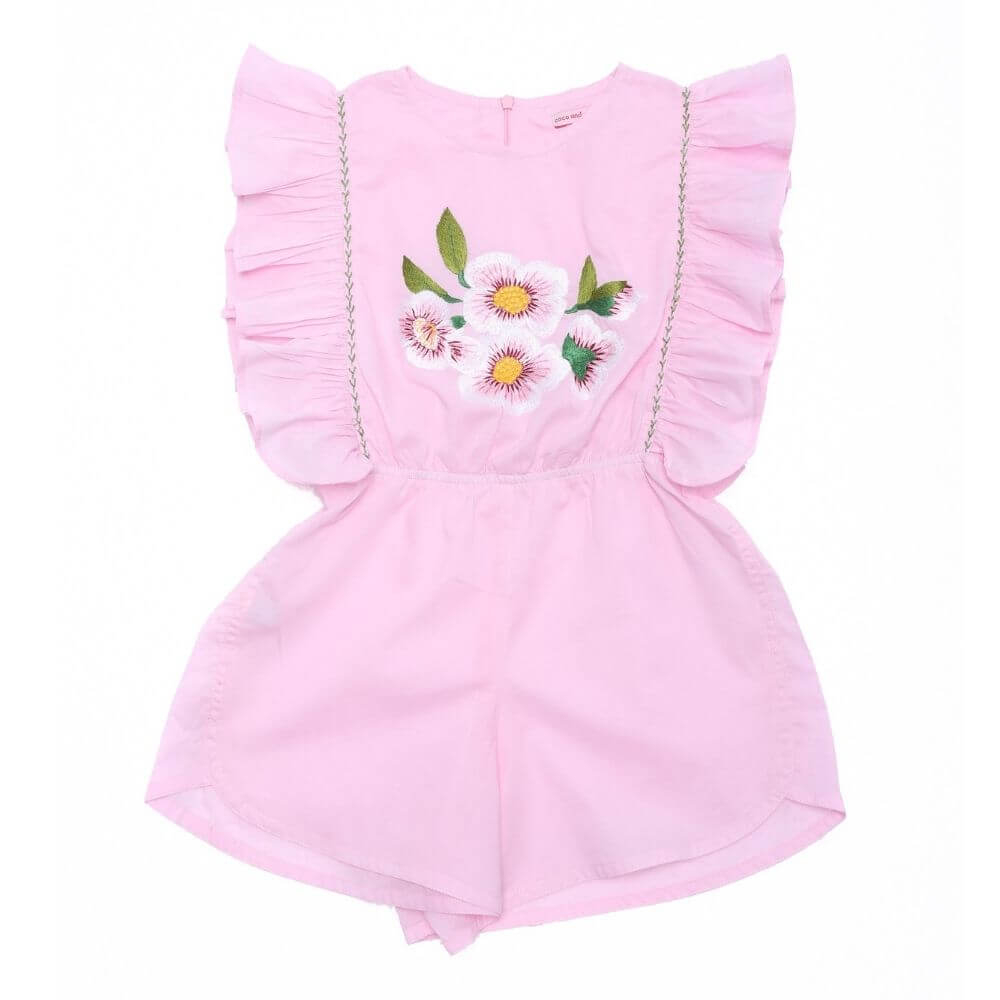 Coco & Ginger Delphine Playsuit Sorbet | Tiny People