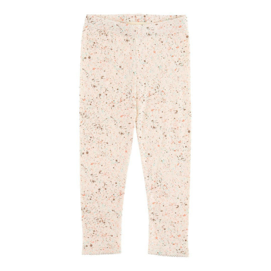 Soft Gallery Baby Paula Leggings Pearled Ivory Mint Dust - Tiny People Cool Kids Clothes Byron Bay