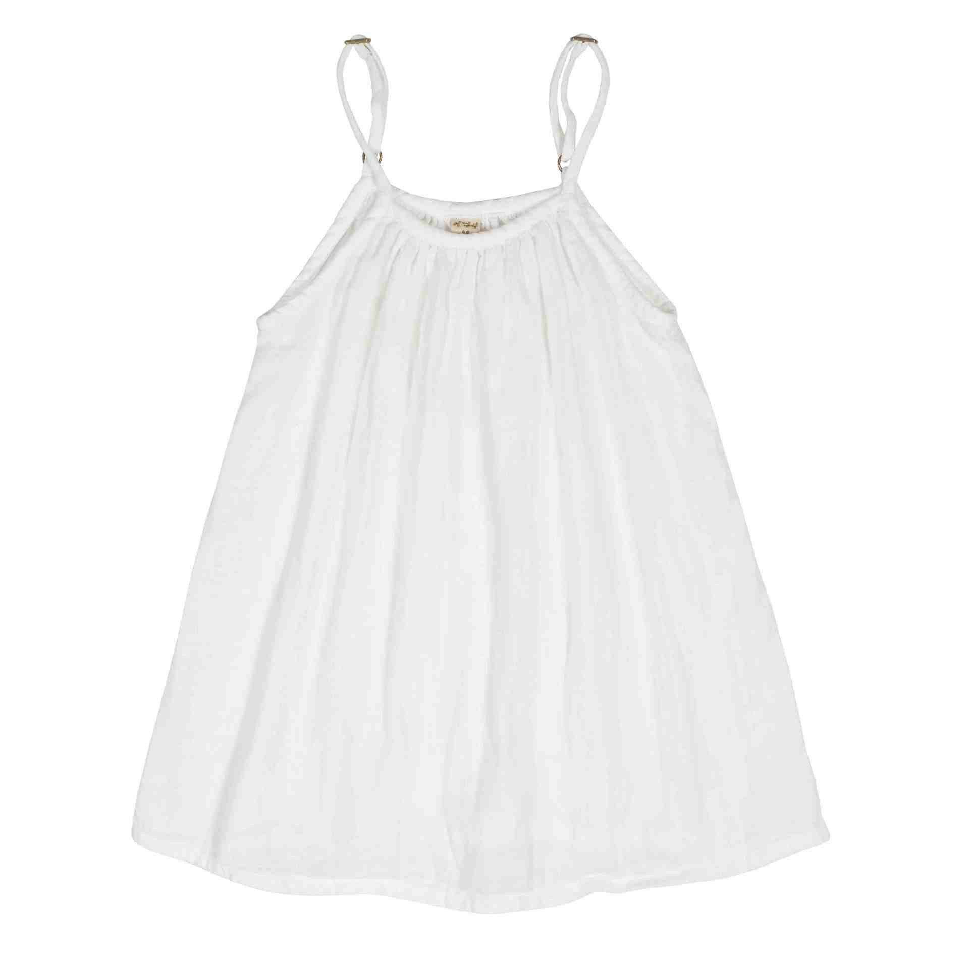 Numero 74 Mia Dress White - Tiny People Cool Kids Clothes Byron Bay