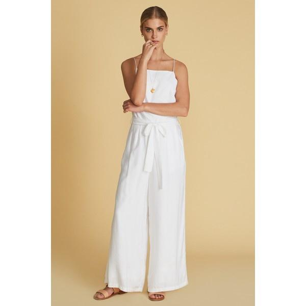 Noemie Jumpsuit White