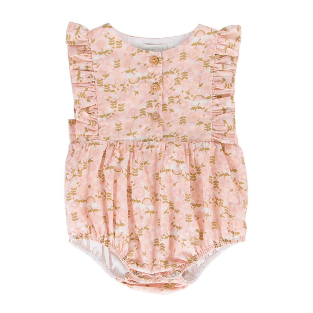 PeggyAugust Playsuit Rainbow Floral | Tiny People