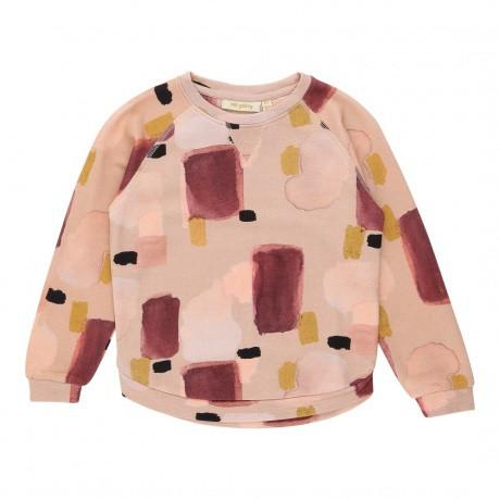 Soft Gallery Anouck Sweatshirt Misty Rose Peinture - Tiny People Cool Kids Clothes