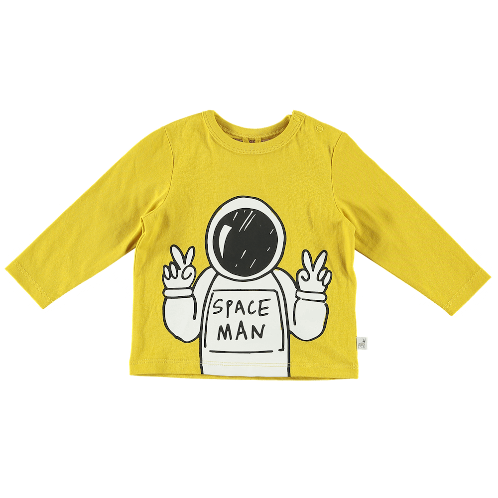 Spaceman Cotton LS Tee