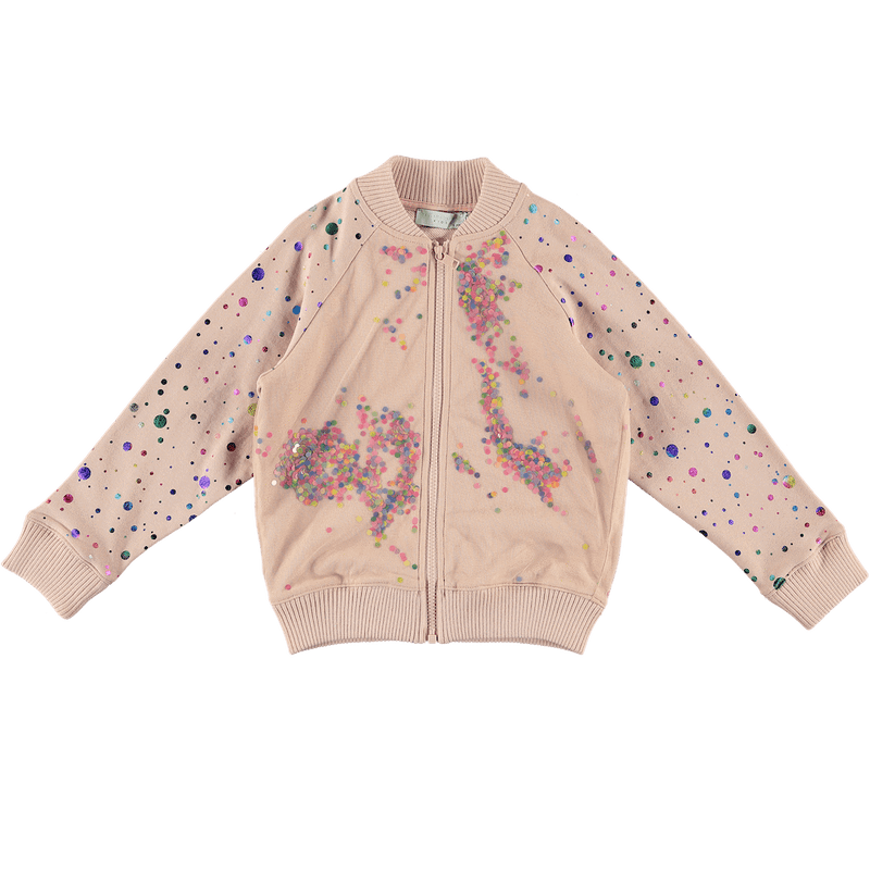Stella McCartney Zip Up Fleece Cardigan Outerwear - Tiny People Cool Kids Clothes