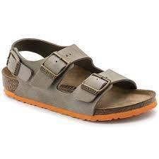 Birkenstock Milano Desert Soil Taupe - Tiny People Cool Kids Clothes Byron Bay