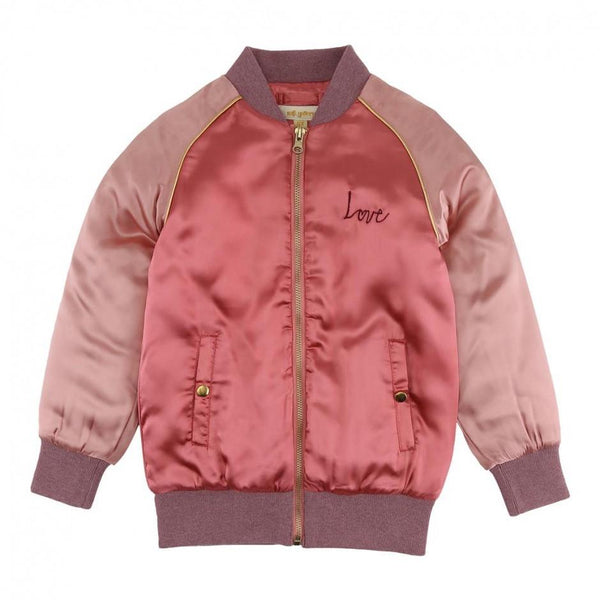 Soft Gallery Sandy Jacket Crabapple Heartart - Tiny People Cool Kids Clothes
