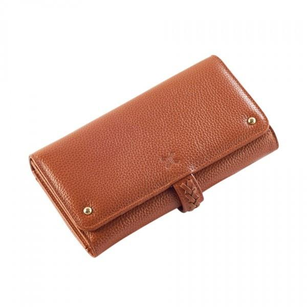 Sancia Giselle Wallet Cognac - Tiny People Cool Kids Clothes