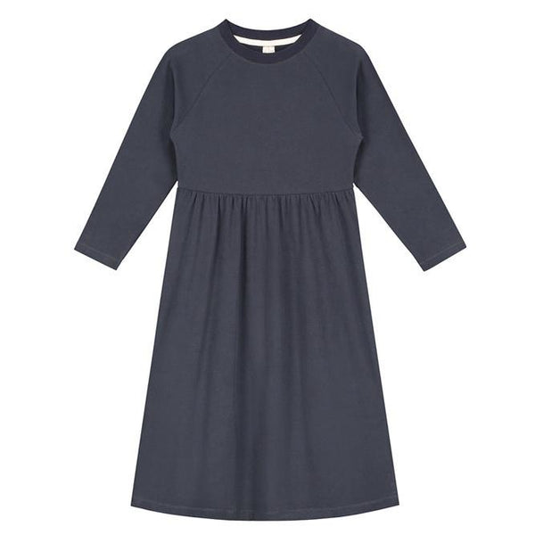 Gray Label Long Dress Night Blue - Tiny People Cool Kids Clothes Byron Bay