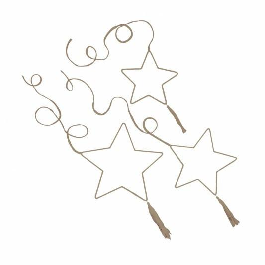 Numero 74 Stars Mobile 3 Piece Pastel - Tiny People shop