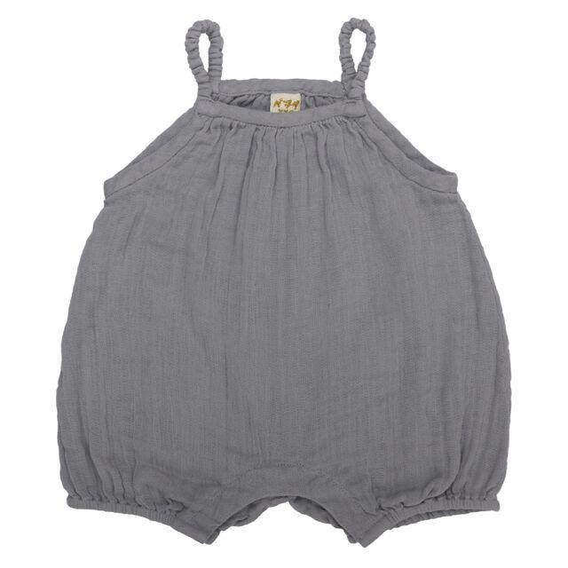Numero 74 Lolita Romper Stone Grey Onesies & Rompers - Tiny People Cool Kids Clothes