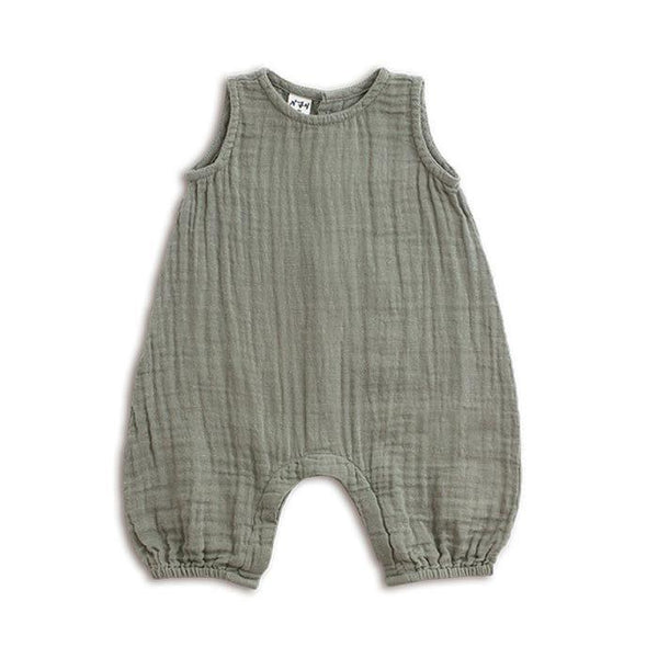Numero 74 Stef Baby Combi Silver Grey - Tiny People Cool Kids Clothes Byron Bay