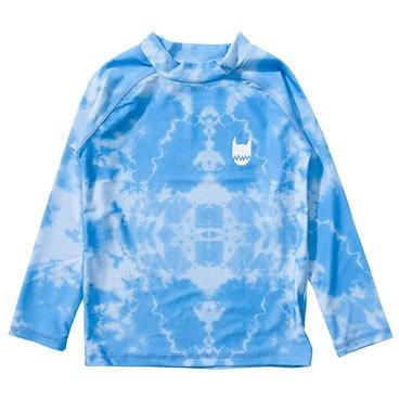 Munster Kids Logo Dye Long Sleeved Rashie Blue Tye Dye - Tiny People Byron Bay