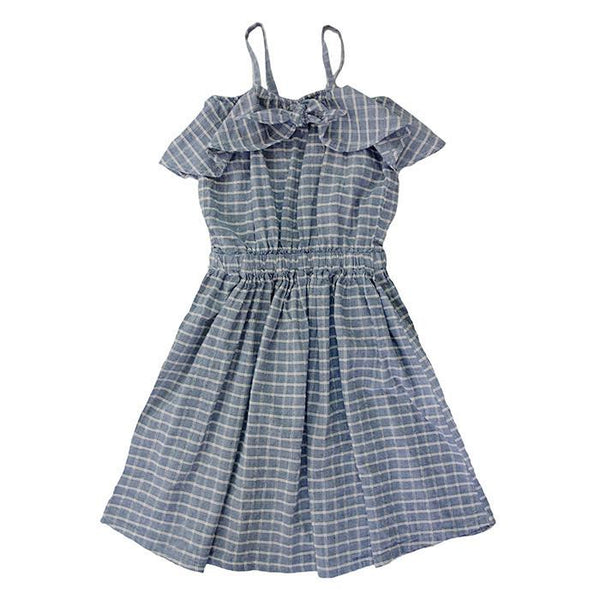 Luau Knot Dress Chambray