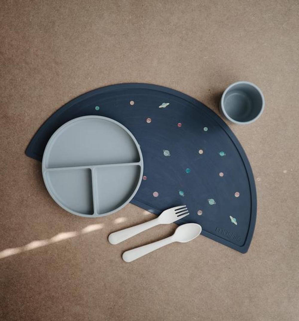 Mushie Silicone Place Mat Planets | Tiny People