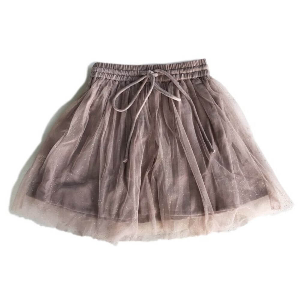 Bella & Lace Harry Skirt Mushroom | Tiny People