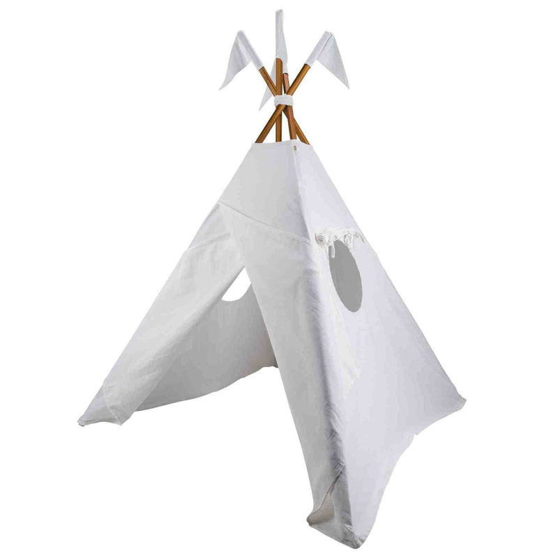 Numero 74 Teepee (Tipi) White Teepee - Tiny People Cool Kids Clothes