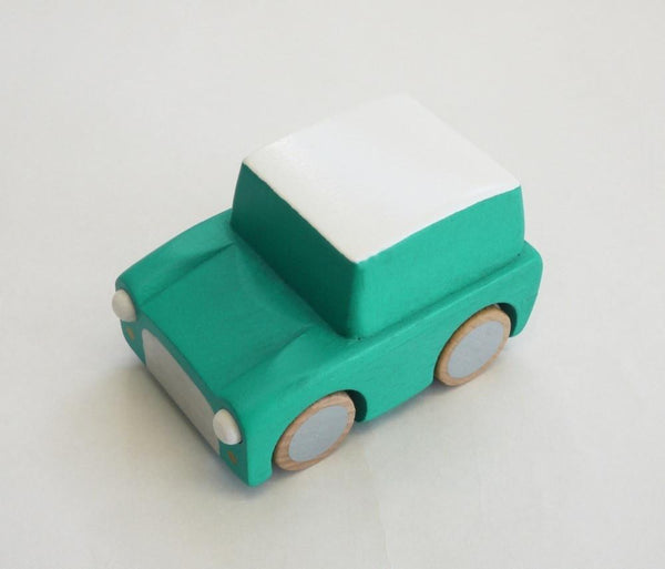 Kukkia Kiko+ Kuruma Car Green - Tiny People shop