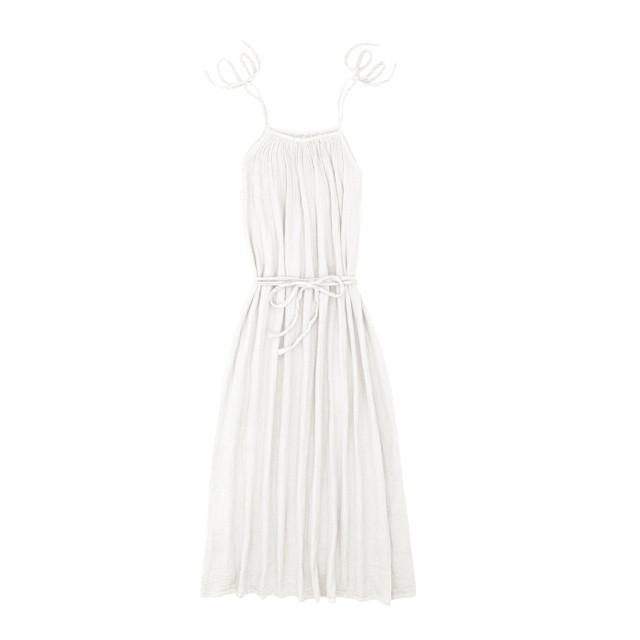 Numero 74 Mia Dress Long Women's White - Tiny People Cool Kids Clothes Byron Bay