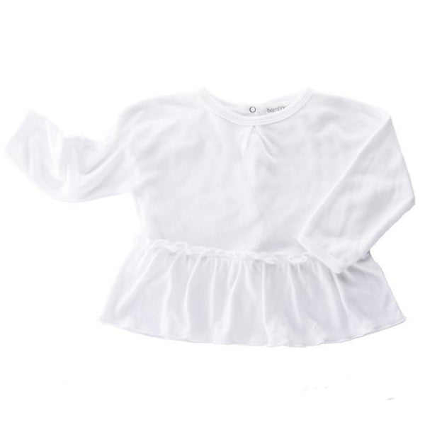 Bamboo & Love Blouse White - Tiny People Cool Kids Clothes Byron Bay