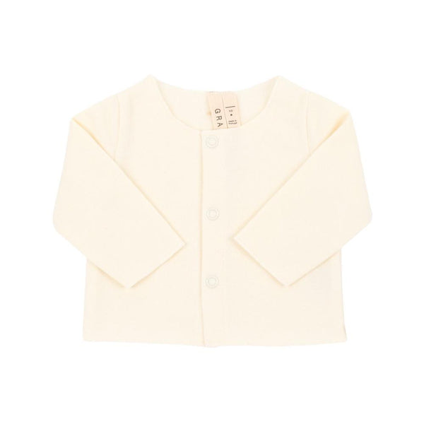 Gray Label Baby Cardigan Cream - Tiny People Byron Bay