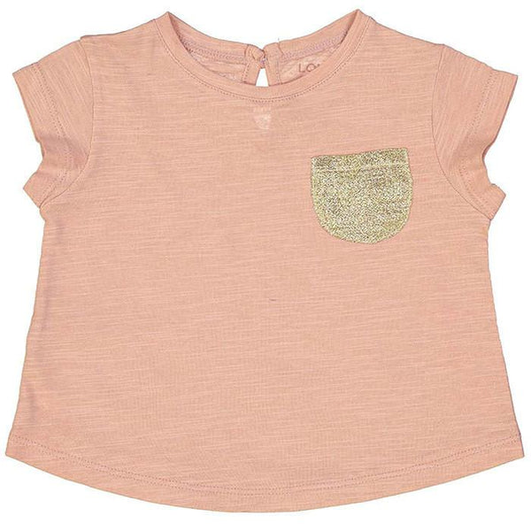 Louis Louise Anae Tee Pink - Tiny People Byron Bay