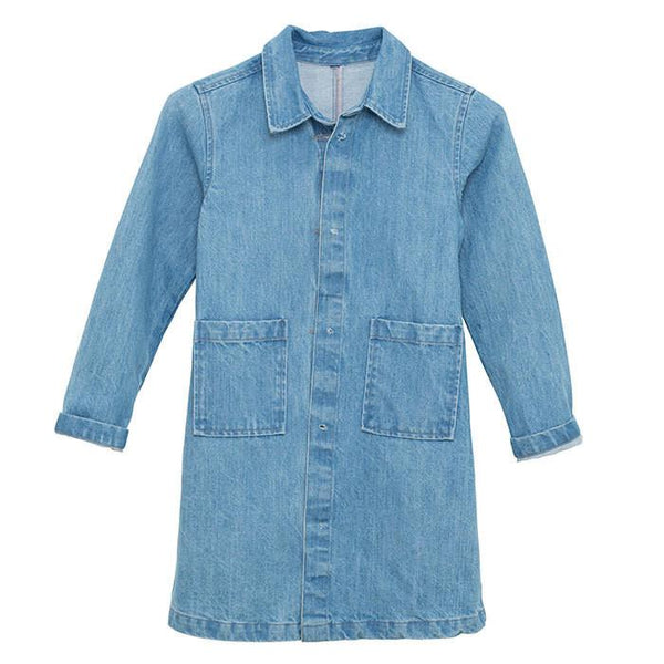 I Dig Denim Liana Denim Coat - Tiny People Cool Kids Clothes Byron Bay