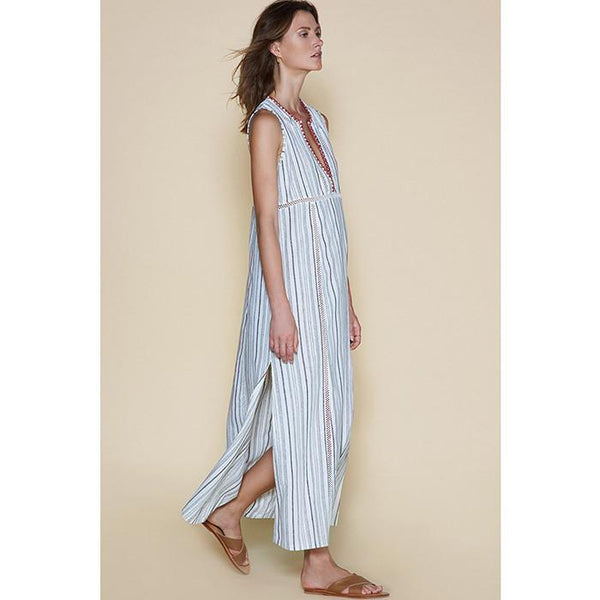 Sancia Miribel Dress Stripe - Tiny People Byron Bay