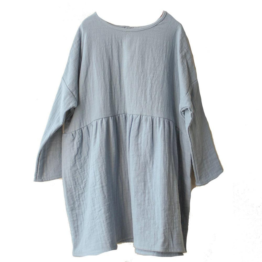 boy+girl Una Dress Azure - Tiny People Cool Kids Clothes Byron Bay
