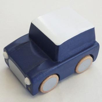 Gorgeous wooden designer toy car for kids.
