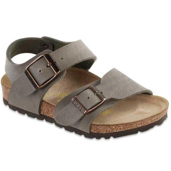 Birkenstock New York Sandal Stone - Tiny People Cool Kids Clothes Byron Bay