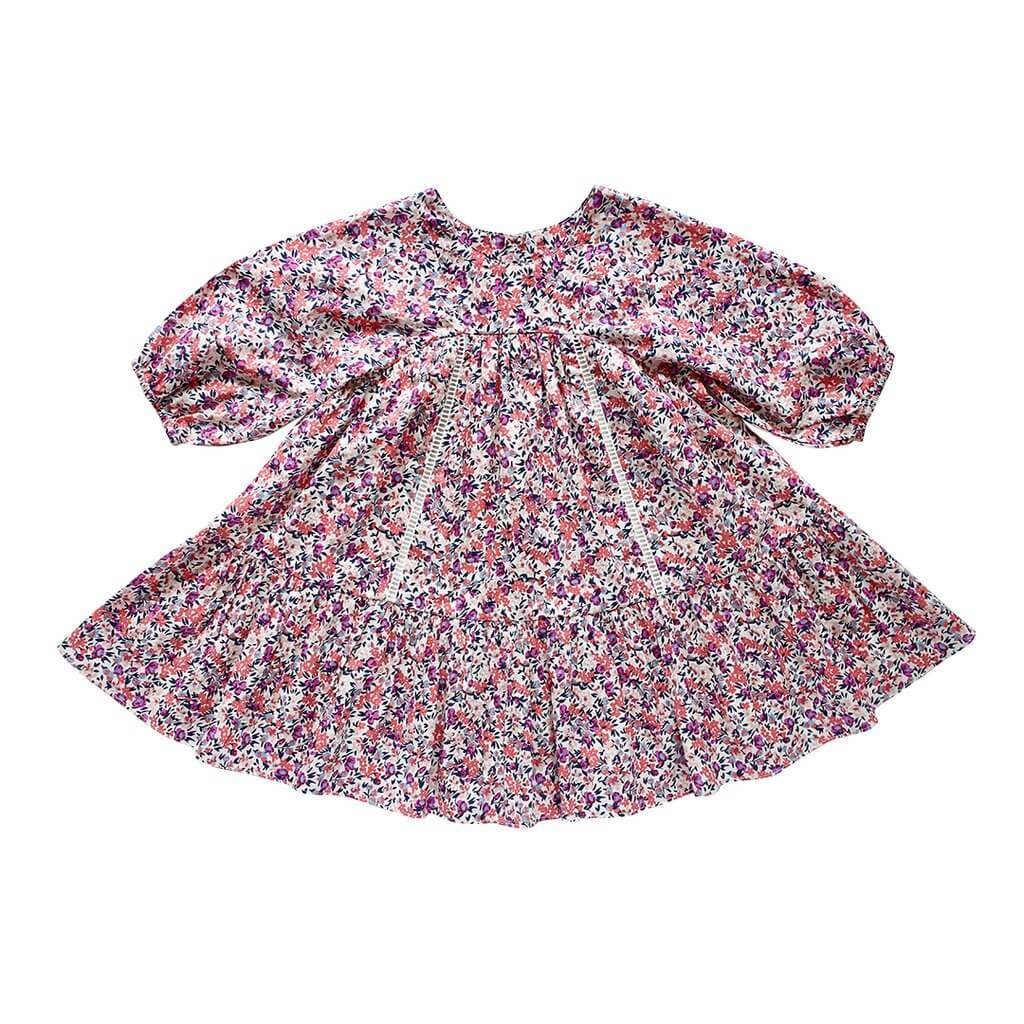 Aubrie Anne of Avonlea Frock Pandora Floral Girls Dresses - Tiny People Cool Kids Clothes