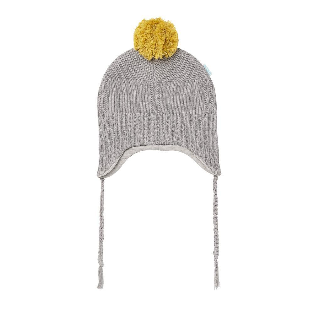 Acorn Kids Alpine Beanie Grey Beanie - Tiny People Cool Kids Clothes