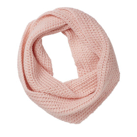 Snowy Mountain Scarf Pink