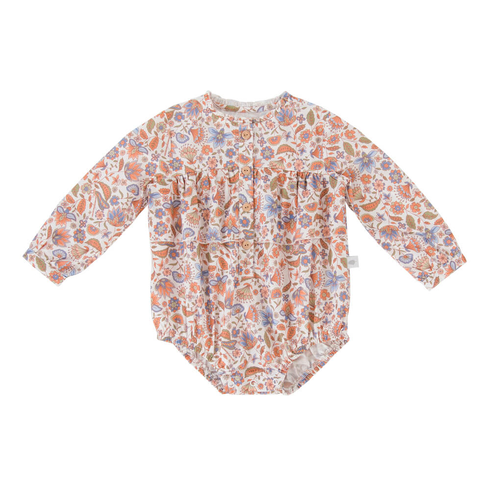 Peggy Greta Playsuit Dragonfly Print | Tiny People