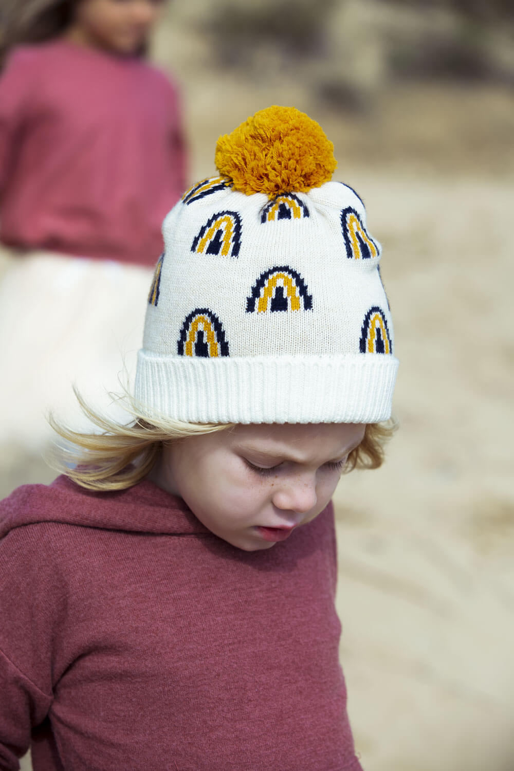 Acorn Kids Rainbow Beanie | Tiny People