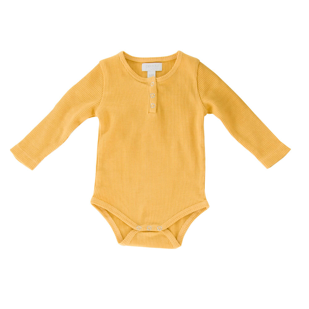 Peggy Jan Bodysuit Golden Apricot | Tiny People