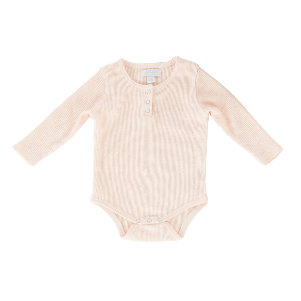 Peggy Jan Bodysuit Soft Pink | Tiny People
