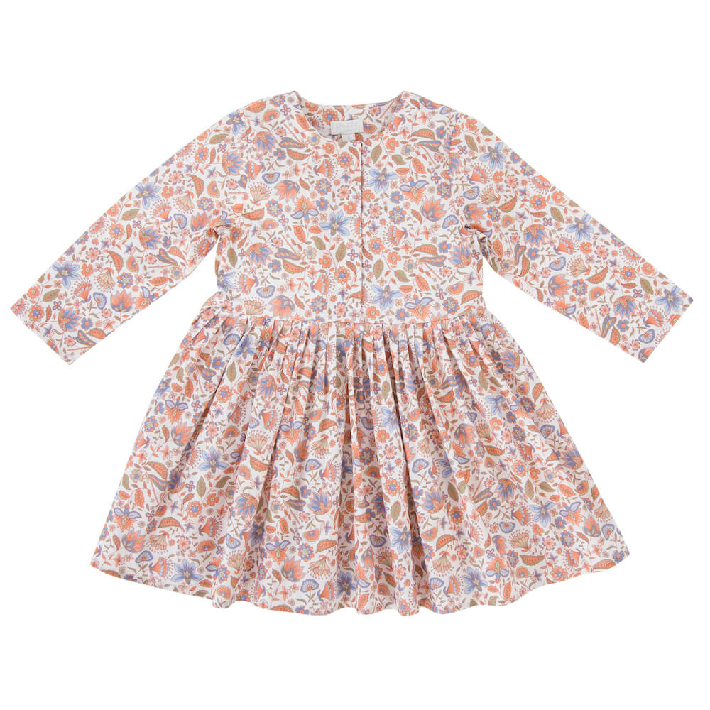Peggy Lola Dress Dragonfly Print | Tiny People