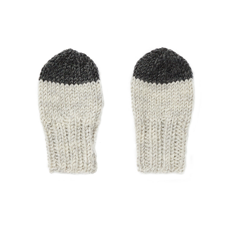 Acorn Kids Sunrise Mittens Grey | Tiny People