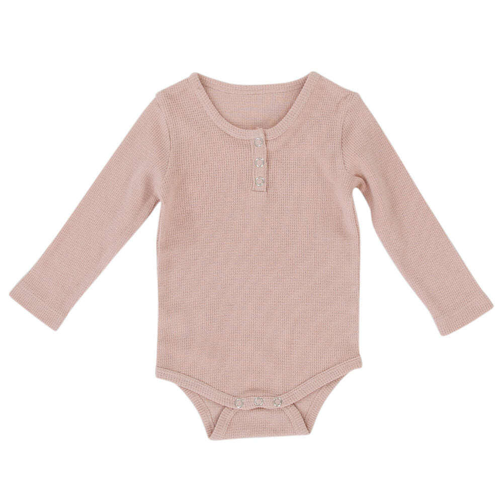 Peggy Jan Playsuit Dusty Pink | Tiny People