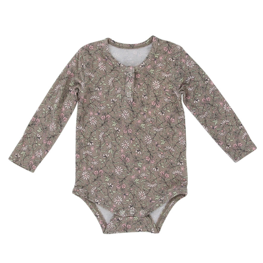 Peggy Jaipur Bodysuit Bobo Nile Floral | Tiny People