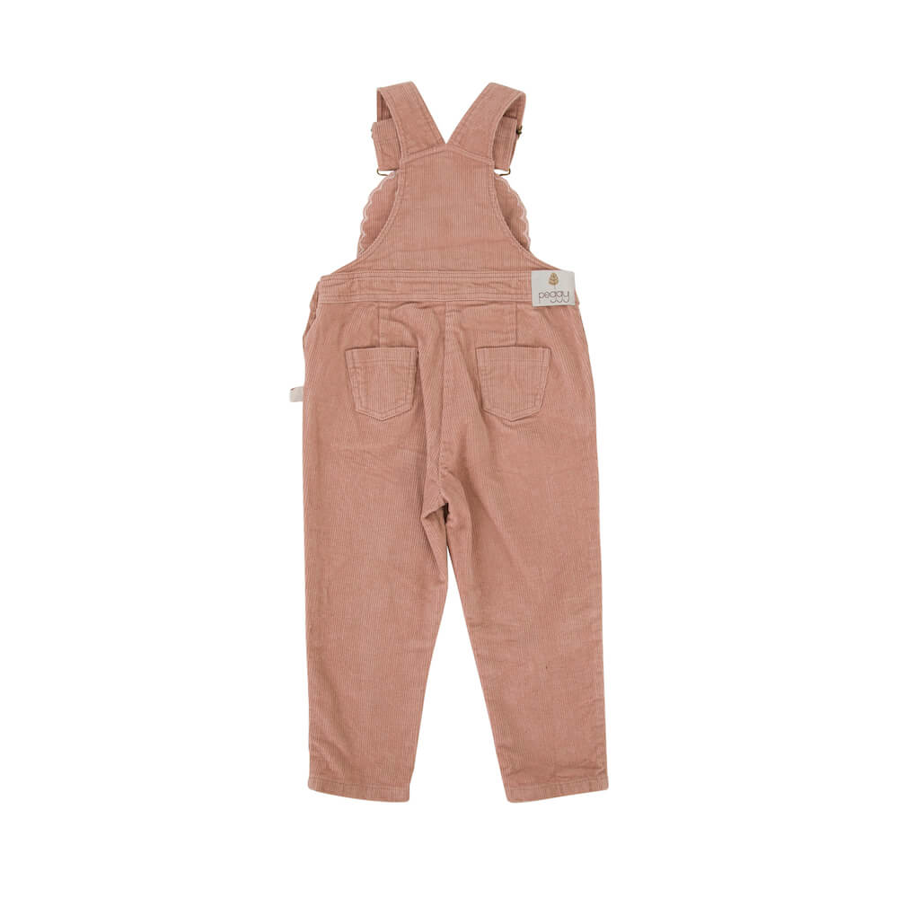 Peggy Cleo Overall Dusty Pink | Tiny People Online Australia