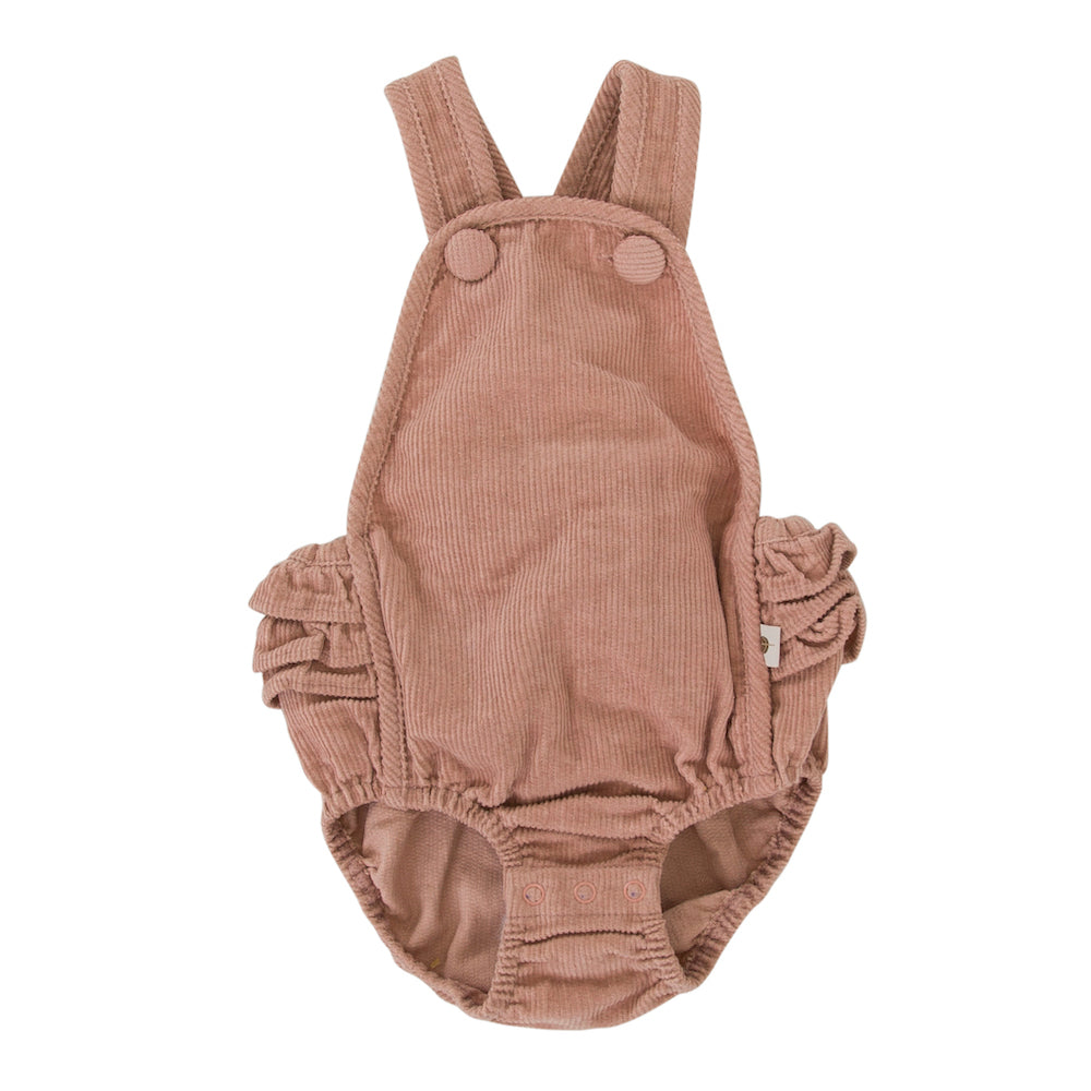 Peggy Jane Playsuit Dusty Pink | Tiny People