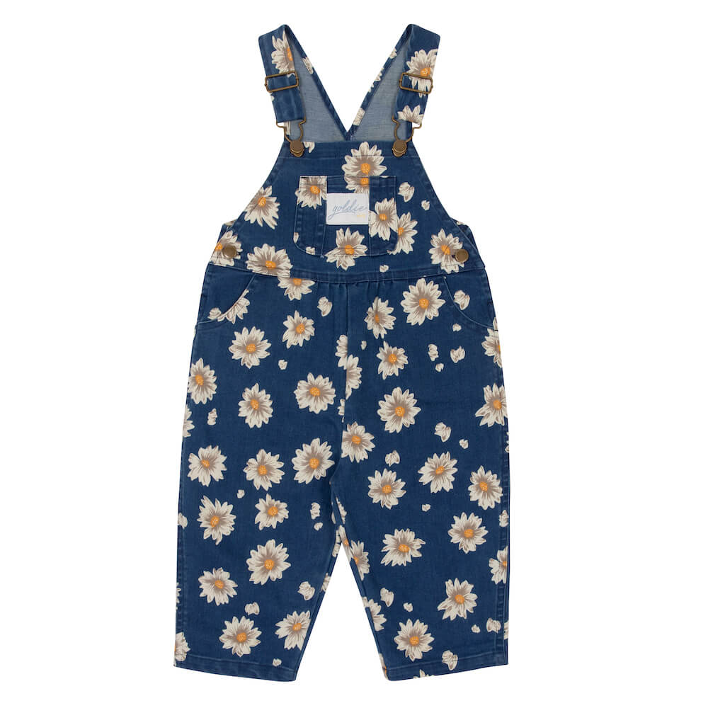 Ace Drill Cotton Overalls Daisy