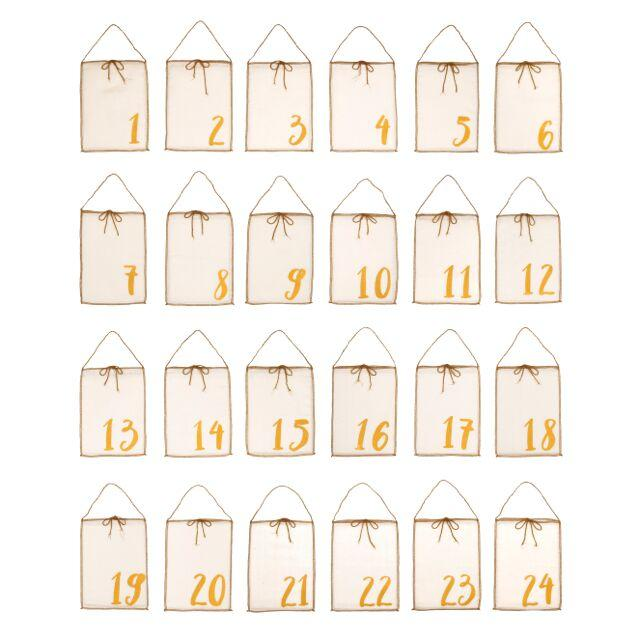 Numero 74 Advent Calendar Gift Bags - Tiny People Cool Kids Clothes Byron Bay