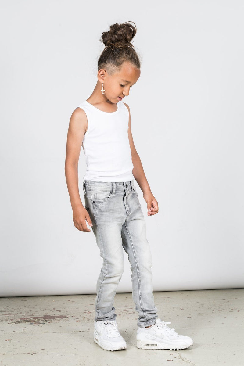 I Dig Denim Alabama Jean Light Grey Jeans - Tiny People Cool Kids Clothes